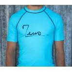 T-shirt lycra bleu