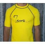 Yellow lycra t-shirt