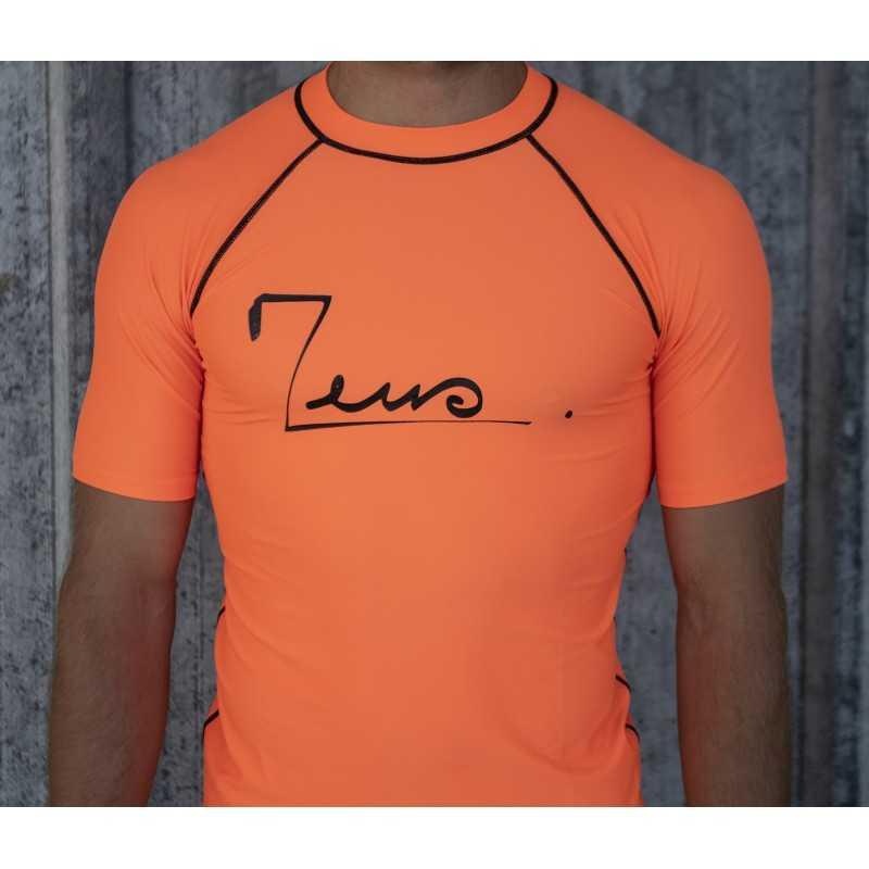 Orange lycra t shirt