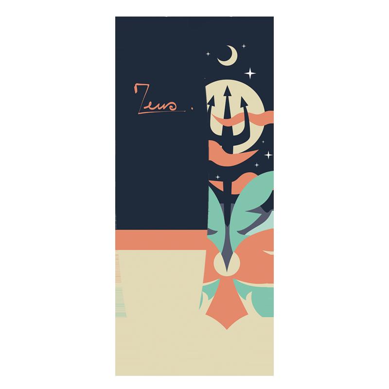 Surfboard 7'6 Midnight