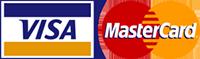 Logos Visa Mastercard